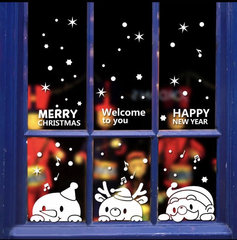 Kerst Raam/Muur sticker
