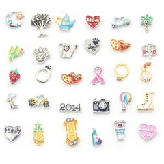 Memory locket charms