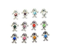 Charms Birthstones girls