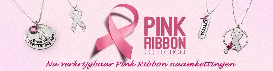 Naamketting-Pink-Ribbon