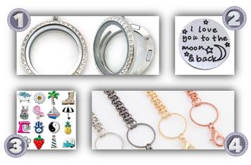 Memory-locket-charms