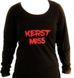 Miss Shirt Voor Trendy4me Kerst Dames nOX8wkP0