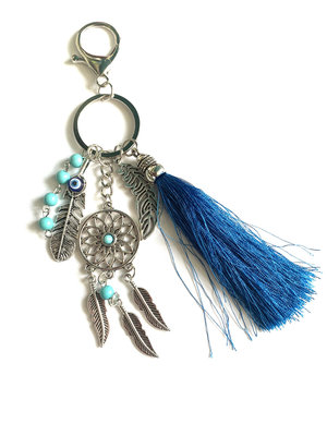 Sleutelhanger Droomvanger blauw