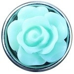 Mint groene roos mini petite click 12mm