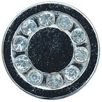 Zilveren (kleur) mini petite click 12mm