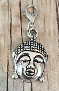 Memory lockets bead dangle Buddha