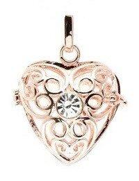 Engelfluisteraar hart rosé (kleur)