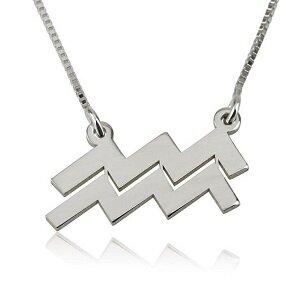 Sterrenbeeldketting sterling zilver 925 'waterman'