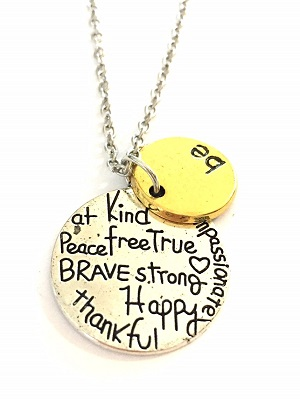 Bedelketting be kind (50cm)