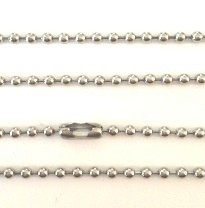 60cm RVS bolletjes ketting (1,5mm)