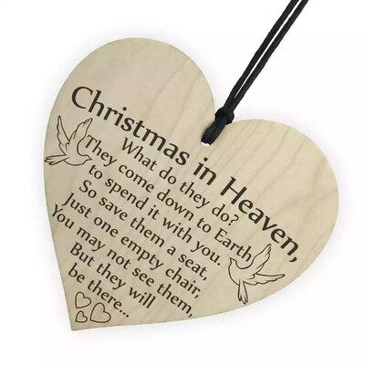 Houten Decoratie Kerst Engel