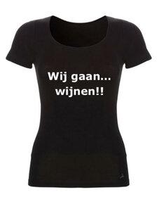 Chateau Meiland shirt: Wij gaan wijnen!!