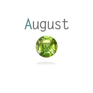 Memory lockets birthstone augustus