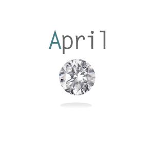 Memory lockets birthstone april