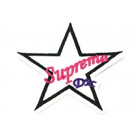 jeans patch ster supreme